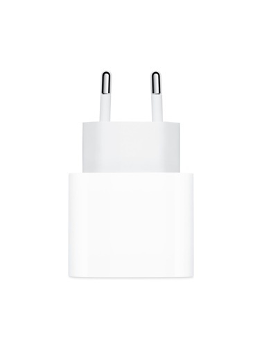 Apple İPhone 11 / 12 20W USB-C Güç Adaptörü + USB-C Ligntning Kablo (1 Metre) Beyaz